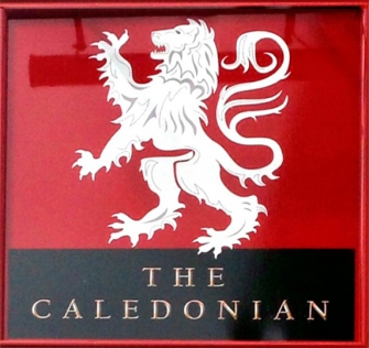 The Caledonian sign