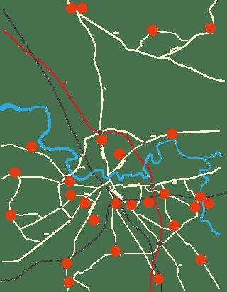 Map - Carlisle & beyond