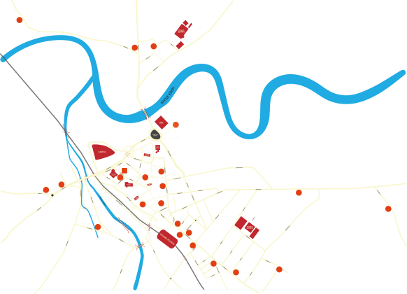 Map - Carlisle centre